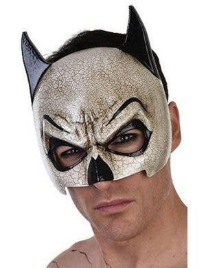 Vintage batman skull masquerade face mask