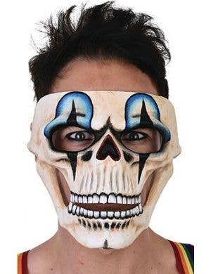 Clown Skull Halloween Masquerade Face Mask