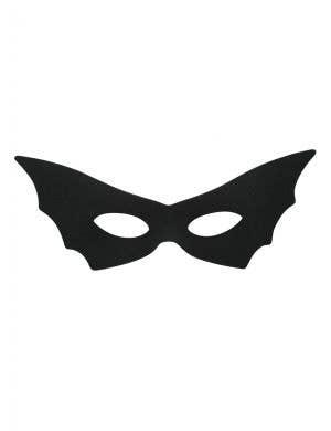 Women's Black Bat Costume Masquerade Eye Mask