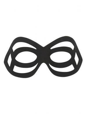 Tattoo Black Cut Out Masquerade Mask For Adult's
