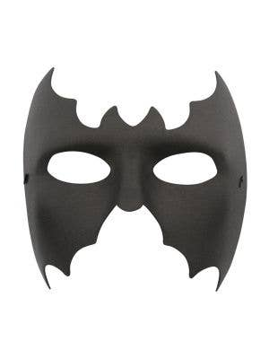 Basic Men's Black Wet Look Batman Costume Mask