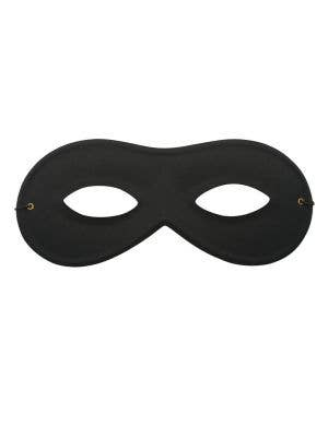 Simple Black Unisex Zorro Masquerade Eye Mask