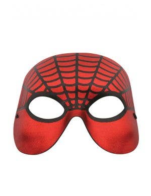 Spiderman Red and Black Simple Masquerade Mask