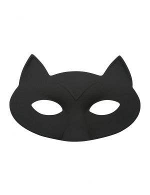 Black Cat Classic Masquerade Costume Mask Accessory