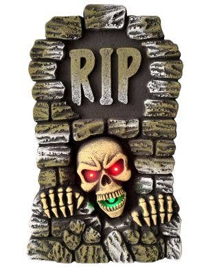 Light Up, Sound and Movement RIP Tombstone Decoration