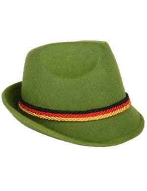 Oktoberfest Green Lederhosen Costume Hat