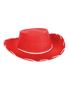 Kid's Wild West Red Cowboy Costume Hat Accessory