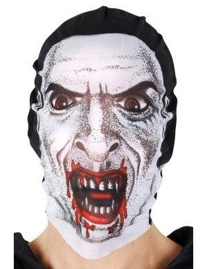 Adult's Vampire Dracula Printed Costume Mask Accessory