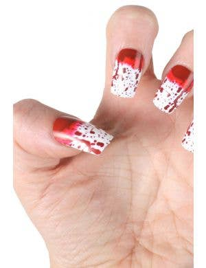 Gory Bloody Fingernails Halloween Accessory