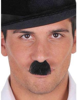 Charlie Chaplin Black Costume Moustache