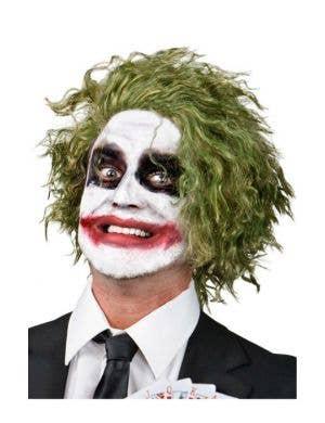Joker The Dark Knight Halloween Costume Wig