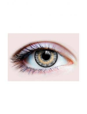 Alluring Ash Grey Coloured Contact Lenses by Primal