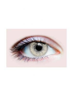 Sunrise Ashy Grey Coloured Halloween Contacts by Primal