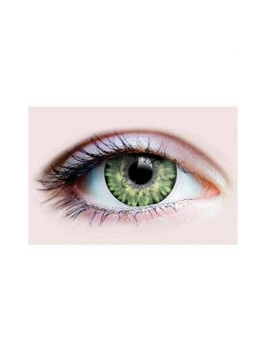 Lightest Green Pure Jade Coloured Contacts by Primal