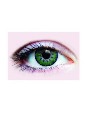 Fabulous Medium Green Coloured Contact Lenses by Primal
