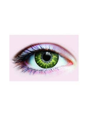 Fairy Fancy Green Coloured Contact Lenses By Primal