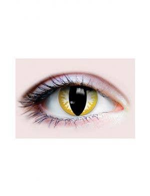 Thriller Cat Eye Halloween 90 Day Wear Contact Lenses