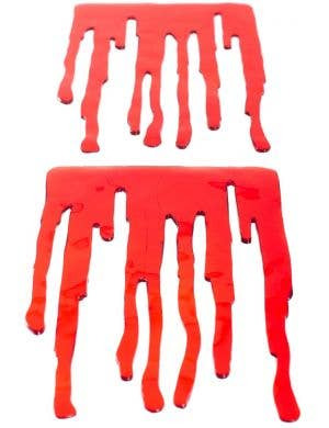 Halloween Blood Drip Window Stickers Decoration