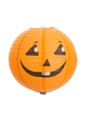 Paper Jack O Lantern Halloween Decoration