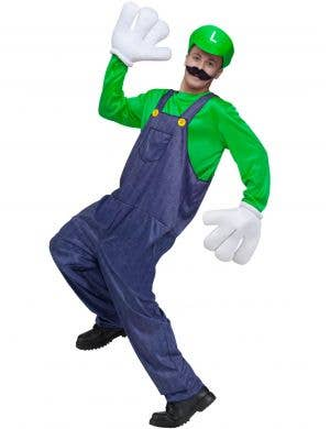 Gaming Character Luigi Men's Fancy Dress Costume