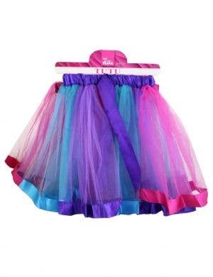 Layered Purple, Pink and Blue Women's Costume Tutu
