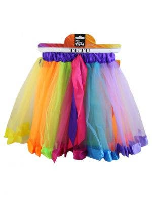 Layered Rainbow Women's Costume Tutu