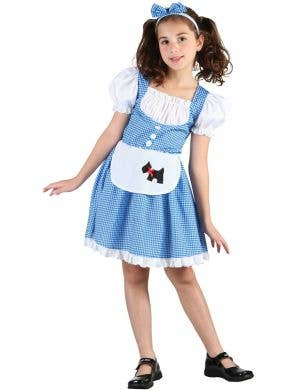 Farmgirl Dorothy Girls Gingham Book Week Costume