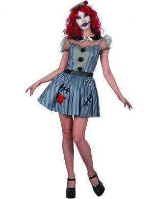 Voodoo Doll Women's Halloween Horror Costume