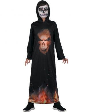 Devil Demon Boys Halloween Fancy Dress Costume