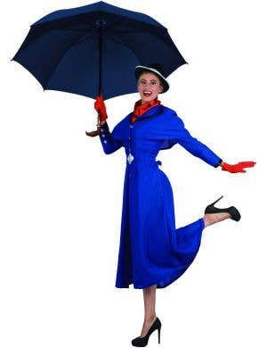 English Nanny Women's Fancy Dress Costume