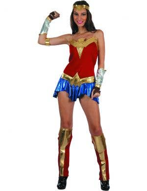 American Heroine Women's Sexy Fancy Dress Costume