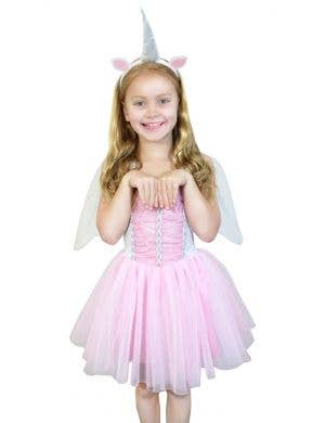 Magical Unicorn Girl's Fairytale Dress Up Costume
