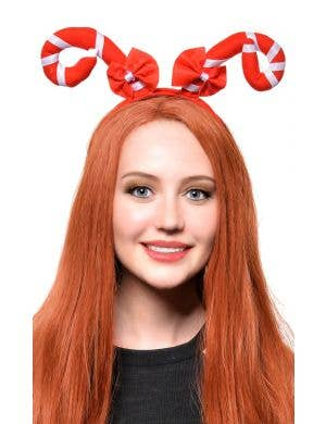 Candy Cane Christmas Novelty Headband