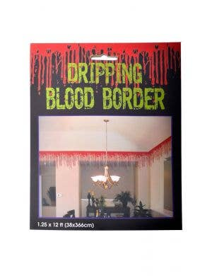 Dripping Blood Halloween Border Decoration