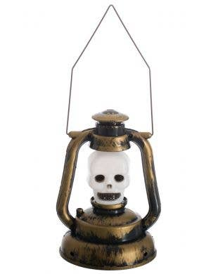 Skull Lantern Light Up Halloween Decoration