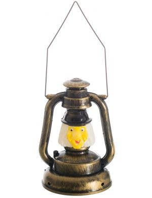 Old Witch Lantern Light Up Halloween Decoration