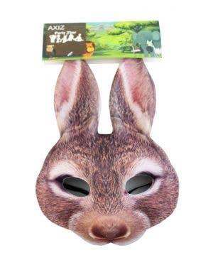 Rabbit Brown Bunny Kid's Book Week Mask Costume Accessory