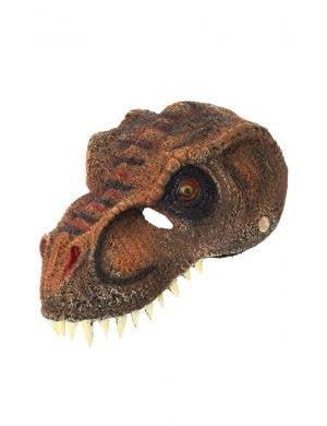 Tyrannosaurus Rex Brown Dinosaur Costume Mask