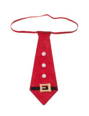 Christmas Mini Novelty Santa Tie
