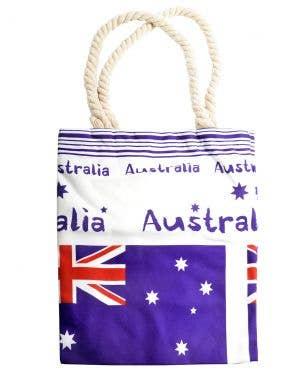 Aussie Flag Design Heavy Duty Australia Day Beach Bag