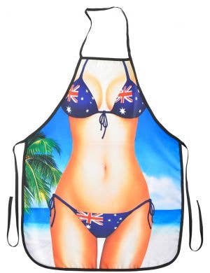 Aussie Flag Skimpy Bikini Funny Australia Day Apron