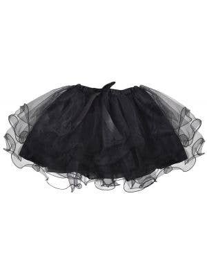 1980's Girl's Layered Black Costume Tutu