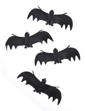 Mini Black Bat Halloween Decoration Pack