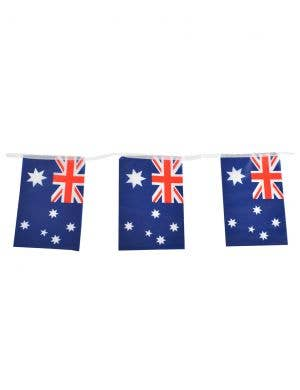 Australia Day Bunting Decoration with 20 Aussie Flags