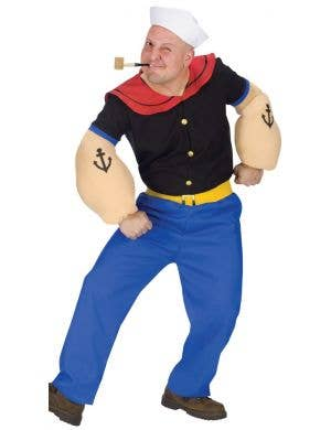 Popeye Sailor Men's Fancy Dress Costume