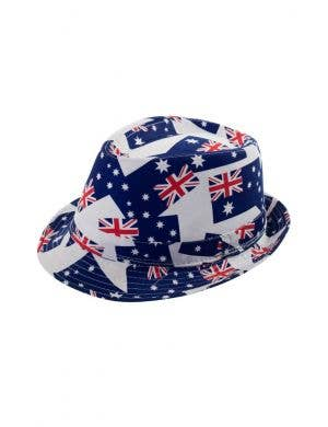 Australian Flags Adult's Trilby Fedora Hat
