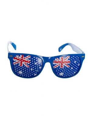 Mesh Australia Day Novelty Australian Flag Glasses