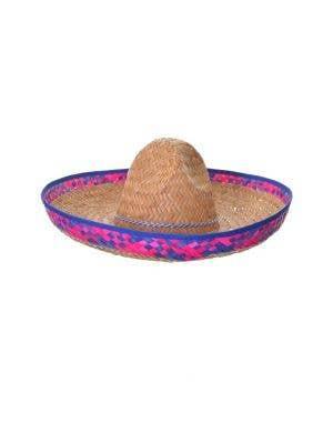 Mexican Woven Straw Sombrero Costume Hat Accessory