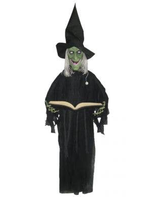 Hanging Trick Or Treat Witch Halloween Decoration