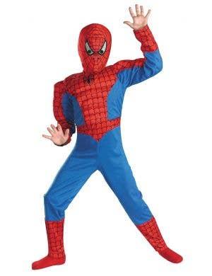 Spider Hero Boy's Spiderman Superhero Costume
